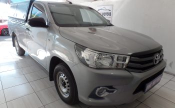 2019 Toyota Hilux 2.4GD (aircon)